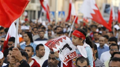 Thousands stage rally in Bahrain