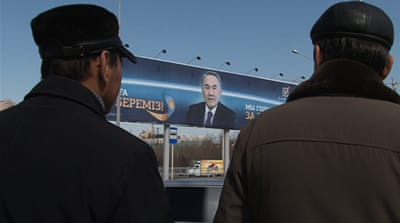 'Democratic' poll cloaks Kazakh autocracy