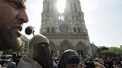 French face veil ban comes into force