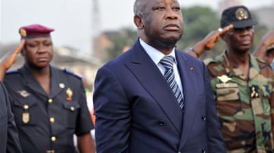 Gbagbo's chequered political career