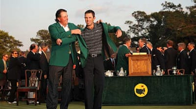Schwartzel wins Masters at Augusta National