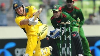 Shane Watson hits world record for sixes