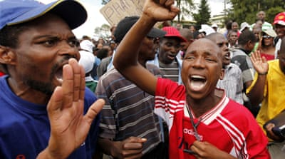 Police disperse Swaziland protesters