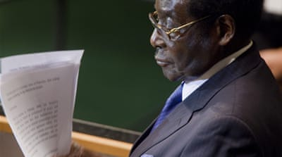 Mugabe for president, again?