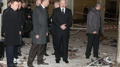 Belarus arrests metro bombing suspects