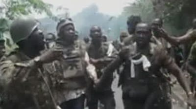 Dramatic pictures of Gbagbo capture released