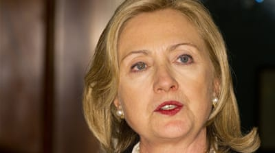Clinton cites atrocities by Gaddafi forces
