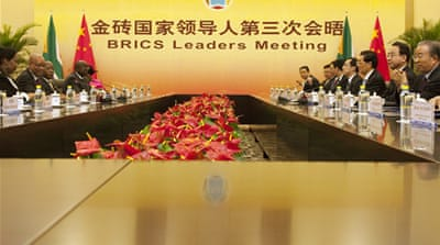 BRICS nations talk economic reform