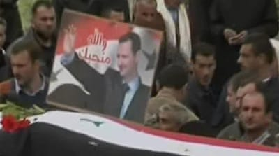 Protests continue across Syria