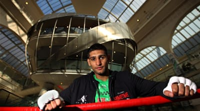 Amir Khan readies for WBA defence