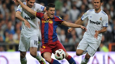 Real rallies for draw with Barca