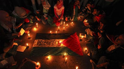 Candlelight vigil held for Italian activist