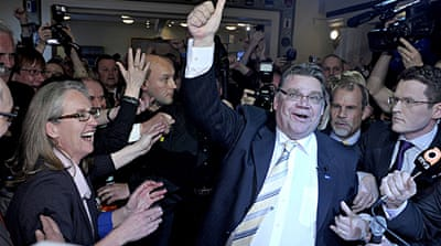 Nationalists make big gains in Finland