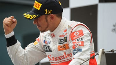 Lewis Hamilton surprised by early win