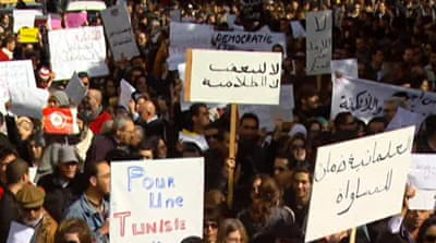 'Islamist politicians' rise in Tunisia