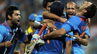 India win Cricket World Cup