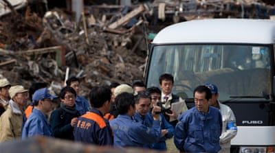 Japan PM visits tsunami-hit areas