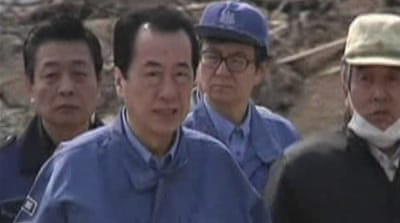 Japan PM criticised over disaster handling