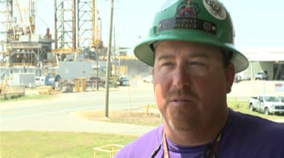 US rig workers fear for future