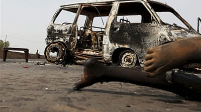Nigeria rights group says 500 dead in unrest