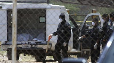More bodies recovered from Mexico mass graves