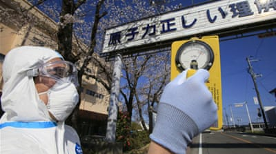 Crowdsourcing Japan's radiation levels