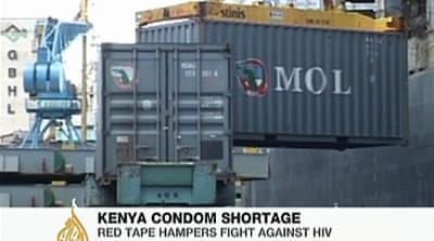 Kenya faces shortage of condoms