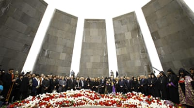 Obama avoids calling Armenia deaths genocide