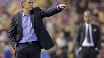 Mourinho prepares Barca battleground