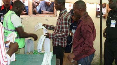 Nigeria counts votes after governor polls
