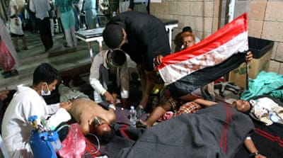 Protesters killed in Yemen shooting
