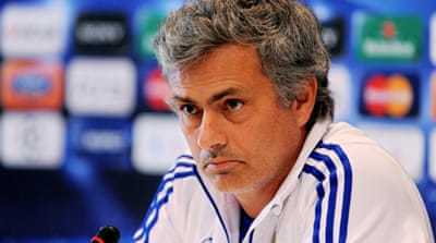 UEFA hands Mourinho five-match ban