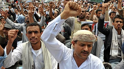 Massive rally in Yemen urges Saleh to go