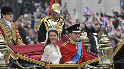One million on streets for UK royal wedding