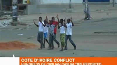 Mass murder reported in Cote d'Ivoire