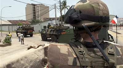 French forces take over Abidjan airport