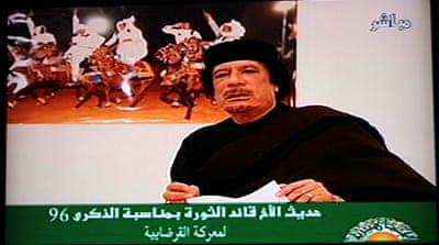 Gaddafi offers truce but not exit