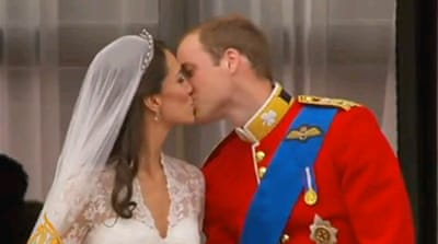 Prince William weds Kate Middleton