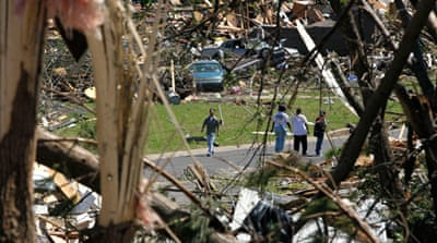 US reels from deadly storms