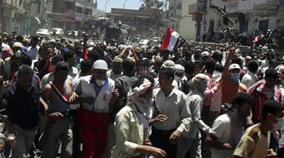 Protesters shot dead in southern Yemen