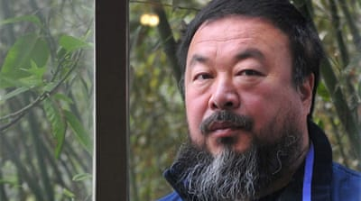 Concern for missing Chinese artist Ai Weiwei