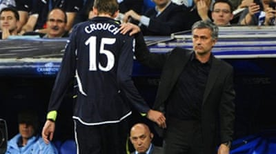Mourinho: 'Crouch is to blame'