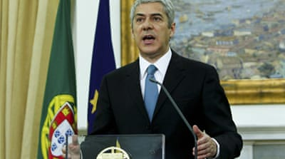 Portugal asks EU for bailout