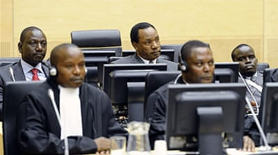 Kenyan ex-ministers in court over poll unrest