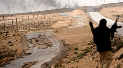 Libyan rebels regain ground near Brega