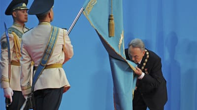 Re-installed Kazakh president pledges reform