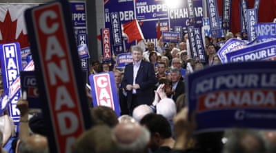 Harper predicted to win Canada poll