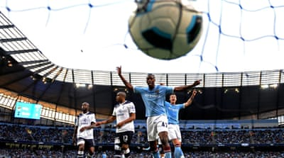 Manchester City secure top four spot