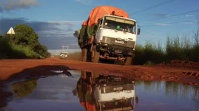 Hazardous trucking in DR Congo