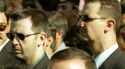 Assad's brother tops Syria sanctions list